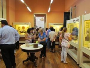 El público en las salas del Museo