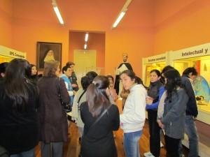 El público visita las salas del Museo