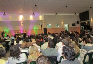 Gran cantidad de público acompañó a la Fundación EPG