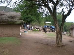 Casa de Domingo Gutiérrez en El Ñorco