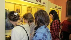 En las Salas del Museo EPG