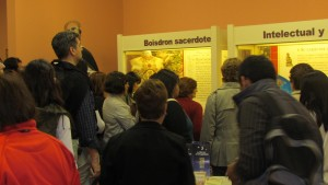 Público visitando las salas del Museo EPG